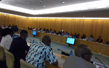 Delegates at the first day of the Africa Regional Forum on Sustainable Development