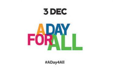 A Day for All banner