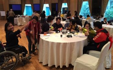 Room view of the Vietnam Technical Workshop on Reporting SDG's implementation in light with the CRPD