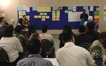 Co-facilitator, Gordon Rattray from CBM, introducing the Accountability session