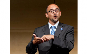 Joseph Murray is the Vice-President of the World Federation of the Deaf
