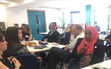Fatma Wangari of Inclusion International, speaking on the BRIDGE SDG CRPD training