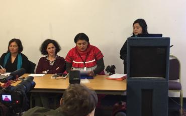 Pratima Gurung and Olga Montufar from Indigenous Persons with Disabilities Global Network