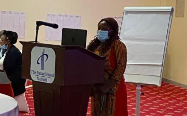 Sarah Kamau, UDPK