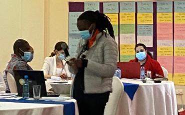 Karen Muriuki, participant speaking