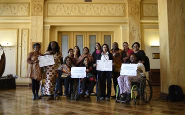 Women with disabilities from all over the world for GQual campaign
