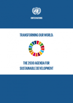 2030 Agenda Cover page