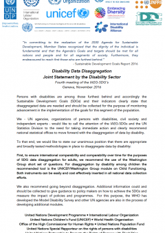 Join Statement on disability data