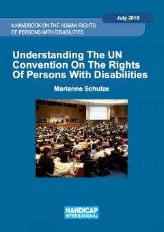 Coverpage of the 'Understanding the UN CRPD' Handbook