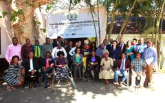Participants at the training on the CRPD & SDGs in Mozambique