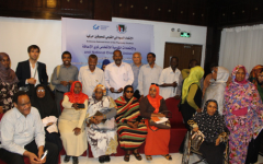 Participants of the workshop on the CRPD Committee`s review process in Khartoum, Sudan in August 2017