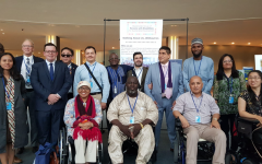 Image of the SGPWD during the second week of HLPF 2019