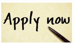Apply Now words written on paper