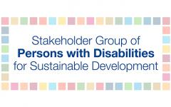Logo of the Stakeholder Group of Persons with Disabilities
