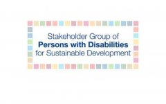 Stakeholder Group of Persons with Disabilities.