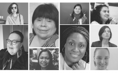 Collage of women speakers