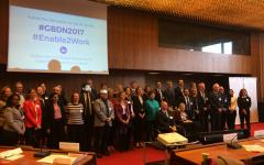 Global Business and Disability Network members' group photo