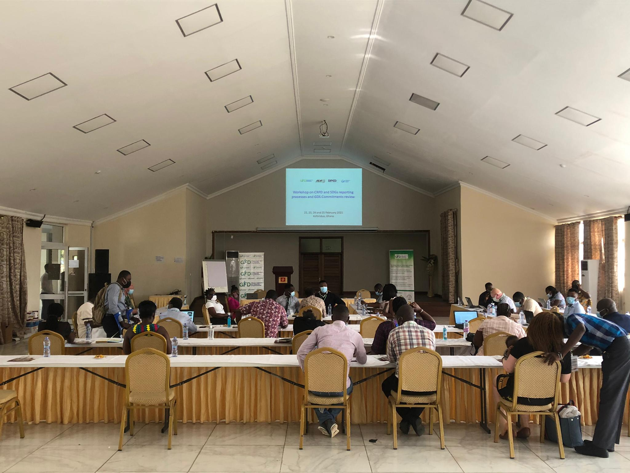 Ghana Workshop on CRPD and SDGs reporting processes and GDS